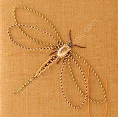 Love Stitch!: Goldwork Dragonfly