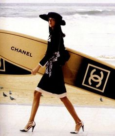 chanel surfing.