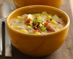 Southwest Potato-Corn Chowder...this will be yummy if it ever gets cold enough!