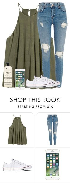 """"""""""" by laurenatria11 ❤ liked on Polyvore featuring Converse and philosophy"""