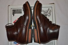White's Boots Semi Dress Brown Horse Hide Boots US 8.5EE Made in USA $600 #whitesboots #AnkleBoots