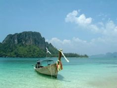 Beautiful beaches in southern Thailand