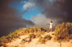 Sunset in Haagse duinen. Fotoshoot by Marriet Mons