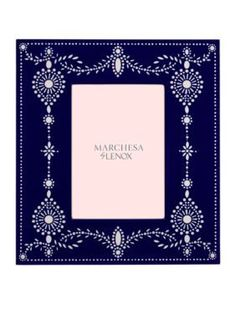 Marchesa by Lenox  Empire Pearl 5x7 Frame - Online Only