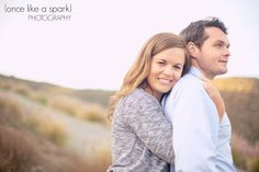 beautiful couple, gorgeous pair, bride to be, groom to be, getting married, engagement photographer, couples portrait, golden lighting, natural lighting, beach photography :: Robin + Trey's Engagement Session at Crystal Cove Beach, CA :: with Marissa