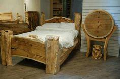 Solid wood beds online UK cheap beds for sale UK Bedding Sets Online, Beds Online, Cedar Table, Rustic Bedding, Log Furniture, Beds For Sale, Wood Beds, Western Decor, Luxury Bedding