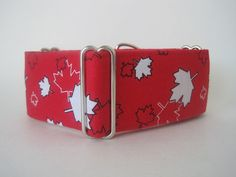 Canada Day Martingale Collar Canadian Flag by HuggableHound