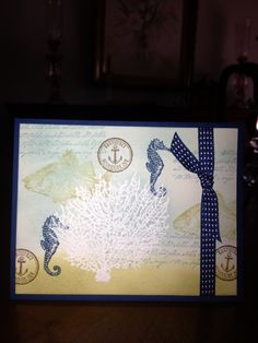 Stampin' Up By the Tide Stamp Set