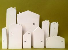 Image result for ceramic houses
