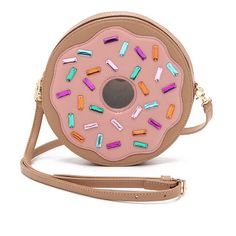 PATRICIA CHANG Donut cross body bag found on Nudevotion