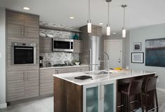 Latitudecabinets Cabinets   Cabinetry Design Gallery: Kitchen - Contemporary