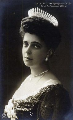 Her Imperial & Royal Highness Princess Nicholas of Greece and Denmark (1882-1957) née Her Imperial Highness Grand Duchess Elena Vladimirovna of Russia