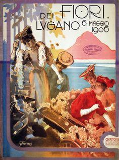 SWITZERLAND - Fiori dei Lugano Talbuserra #Vintage #Travel