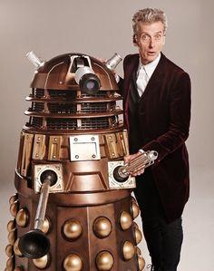 The Twelfth Doctor (Peter Capaldi) & A Dalek