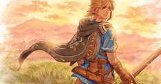 Legend Of Zelda, All Art, Geek Stuff, Princess Zelda, Nintendo, Anime, Fictional Characters, Twitter, Link