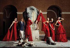 El jardín de papá: 50 años de rojo Valentino