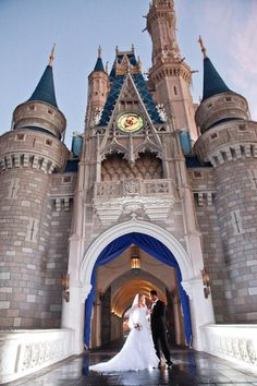 This is beautiful! I wish I could have had my wedding at Disney World!!