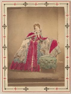 What is chinchilla?    The Countess de Castiglione by Pierre-Louis Pierson, 1862–67, Metropolitan Museum of Art