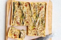 Smokey cheese bacon and potato tart recipe - goodtoknow #fastdiet Summer Lunch Recipes, Dinner Recipes, Picnic Recipes, Dinner Dishes, Low Calorie Recipes, Healthy Recipes, New Easy Recipe, Dinners Under 500 Calories, Tarts