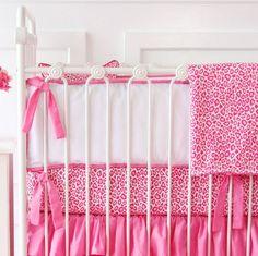 Caden Lane Girly Pink Leopard Bumper