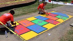 How To Paint Asphalt Games | KaBOOM!