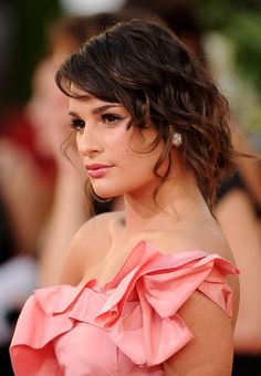 Lea Michele - when not being Rachel Berry - she always looks so strange in Glee... I love her tats :)