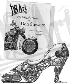 "Fifty of Dr. Stewart's best drawings, from his first twenty years in the studio. 8 1/2 x 11"" paperback."
