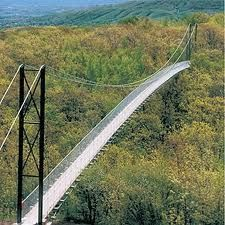 Two hours away ! CHECK--Scenic Caves Suspension Bridge long), Collingwood, ON. The longest suspension bridge in Ontario. Also open in winter! Voyage Canada, Wasaga Beach, Ontario Travel, Destinations, Kayak, Nature Adventure, Suspension Bridge, Canada Travel, Places To See