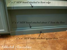 Should we ever have time, this would be great.  How To:  Build A Banquette Seat With Storage