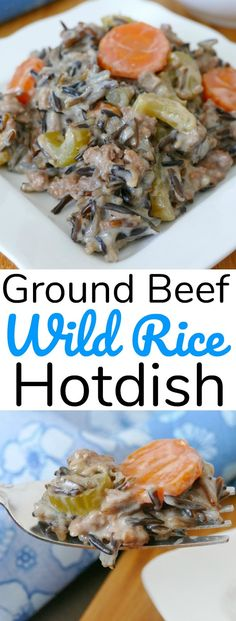 Minnesota Ground Beef and Wild Rice Hotdish Recipe Minnesota Ground Beef and Wild Rice Hotdish Recipe beef recipes Wild Rice Hotdish Recipe, Wild Rice Recipes, Hotdish Recipes, Minnesota Wild Rice, Minnesota Funny, Slow Cooker, Ground Beef Tacos, Le Diner, Ground Beef Recipes