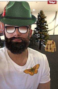 #tirolselfie #tirolselfie who's got the most beautiful beard?
