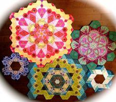 The New Hexagon - Millefiore Quilt Along