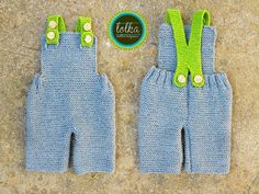Handmade baby overall with 100 merino wool in gray by LolkaWear, €35.00