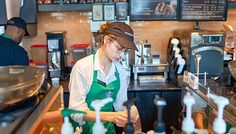 Flirtatious Moments Between Baristas And Customers - We've all had that one crazy hot Starbucks employee. Mental Health Services, Mental Health Matters, Kevin Johnson, Leadership Conference, Clinical Psychologist, Digital Media, Starbucks, In This Moment, Apple