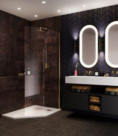 Aqata is a UK manufacturer of luxury and contemporary shower enclosures and screens. Find out more about how to transform your bathroom today. Bathroom Design Luxury, Home Interior Design, Screen Enclosures, Contemporary Shower, Bathroom Trends, Bathroom Ideas, Luxury Shower, Paint Shades, Shower Screen