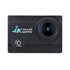 """2"""" LCD Screen V3 4K 16MP FHD WiFi Action Sports Camera"""