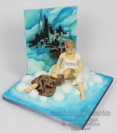 Castle on a Cloud - Les Mis for the Cakeflix Collaboration - Cake by Suzanne Readman - Cakin' Faerie