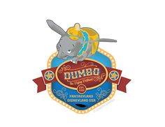 Disneyland Attraction Badges on Behance