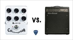 In this video I compare the recorded sound direct into my MacBook of the Joyo California Sound pedal and the Mesa Boogie Studio Caliber using that ampli. Music Software, Nintendo Consoles, Macbook, Music Instruments, California, Videos, Youtube, Amp, Musical Instruments