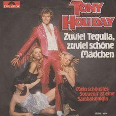 """""""Zuviel Tequila zuviel schöne Mädchen"""" performed by Tony Holiday German National Final 1979."""