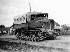 """Voroshilovetz "" heavy  tractor  Red  army WW II"