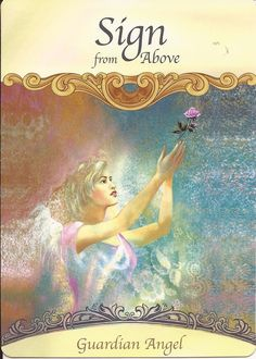 Good Morning Everyone! ~ Card of the Day comes from Doreen Virtue's Saints and Angels Oracle Cards ~ Sign From Above ~ When we are feeling, lost, lonely or alone, please reach out for help, and ask!...