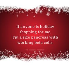 I'm a size pancreas with working beta cells #t1d #type1diabetes #insulindependent