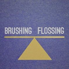 Dentaltown - Did you know that flossing and brushing are equal in importance?