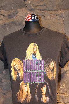 Danger Danger Screwin in the USA 91/92 tour shirt #dangerdanger