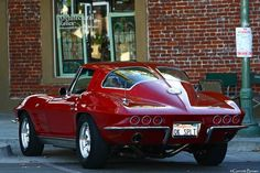 1963 Corvette Sting Ray Coupe #chevroletimpala1963