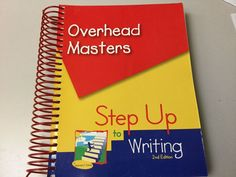 STEP UP TO WRITING OVERHEAD MASTERS, 2ND ED, TRANSPARENCIES, STUDENT HANDOUTS #TeacherEdition