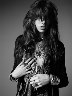 La collection PSYCH ROCK de Saint Laurent par Hedi Slimane // STYLESCHOOLBYDANIE.COM