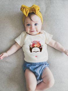 Αυτό το κορίτσι είναι η καλλιτέχνης του σπιτιού Baby Bodysuit, Onesies, Kids, Clothes, Fashion, Young Children, Outfits, Moda, Boys