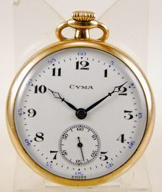 Reloj lepine CYMA Suiza c.1910